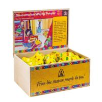 6 mini worry dolls small box 5x3cm (Pack of 60 in a display box)
