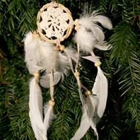 Dreamcatcher bamboo twisted 6cm