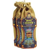 Incense and holder in jute bag Snake Charmer (set 12)