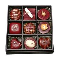 Candle chocolate box