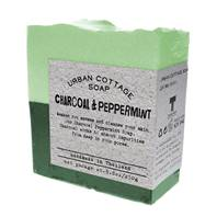 Soap 250g charcoal & peppermint