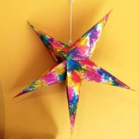 Star shaped lampshade 65cm