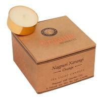 12 t-lite scented candles, Organic Goodness, Nagpuri Narangi Orange