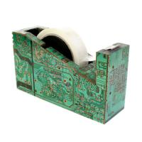 Sellotape dispenser, recycled circuit board