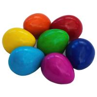 Kisii stone eggs, set of 14, 7cm height