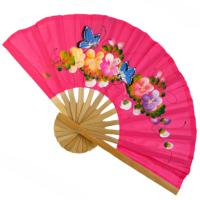 Cotton fan assorted colours 26cm