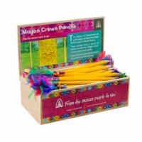Mayan crown pencils (box of 60)