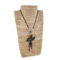 Pendant bone engraved cross